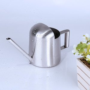 300ml Stainless Steel Long Spout Watering Cans For Household Garden Green Plants Pot Quality Simple Design Modern Pots Equipments 26sh Z