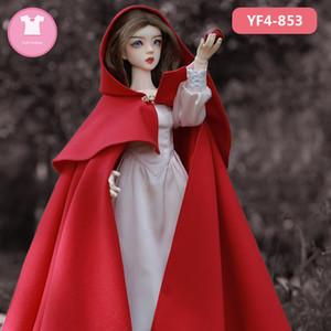 1/4 BJD Vêtements Vêtements Fille Corps Mini Supia Bjd Robe Belle Poupée Accessoires Luodoll Oueneifs Chinabjd Y0112