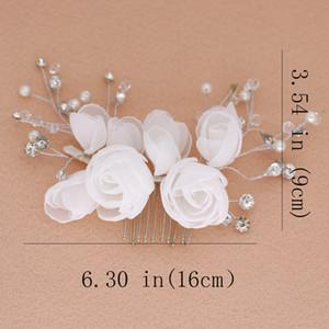 Asnora marca marca nupcial casamento acessórios de cabelo mulheres gril cabeça jóias beaulty hairpin cabelo clipe por atacado glift j0121