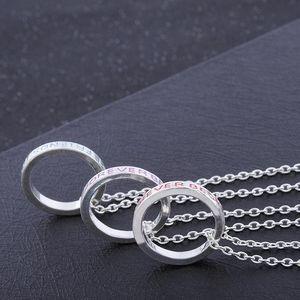 Colares Novas Mulheres Meninas Best Friends Forever Carta Imprimir colar pingente anel