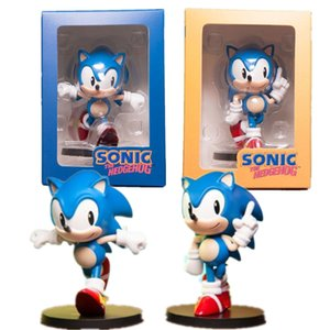 Sonic The Hedgehog PVC Action Figure 75mm Modell Spielzeug Anime Film Sonic The Hedgehog Q.Ver Figurine Spiel Spielzeug