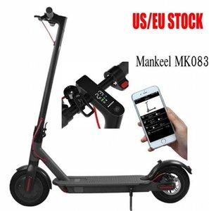 AB Stok Elektrikli Scooter 250W Katlama Kick Yetişkin 36V ile LED Ekran Yüksek Hızlı Off Road MK083 için Bisiklet Bisiklet Scooter