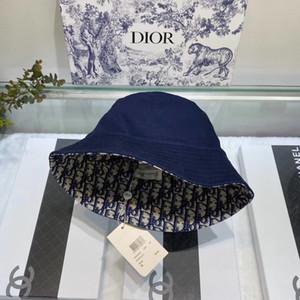 FURANDOWN 2020 di inverno di modo del cappello della benna donne degli uomini unisex di Hip cappello bob chapeau Cappello da pescatore Hop Cap con box