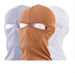 Protección de la cara completa al aire libre Spandex Balaclava Táctica Hood Headwear Ski Cuello Ciclismo Mascarilla Mascarilla Sombreros de montar a caballo