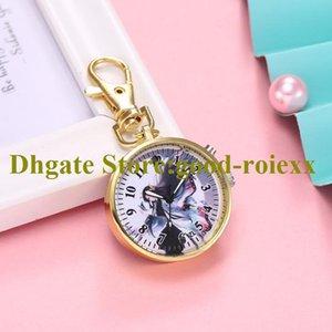 Оптовая Unisex женские карманные часы ожерелье аксессуары свитер цепи женские висит мужские кварцевые девушки часы A00019