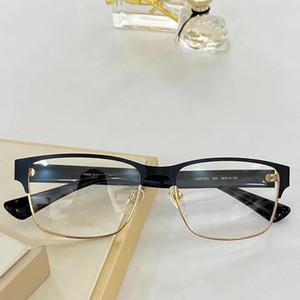 عالية الجودة النمط الكلاسيكي الرجال الأعمال المعدنية النظارات هالفريم 56-18-150 للصفة fullset case 0750O