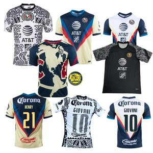 Liga MX America 2020 2021 club Soccer Jerseys R.Martínez Giovani Casa Away 3a 20 21 Camicia da uomo e donna Camicia per bambini