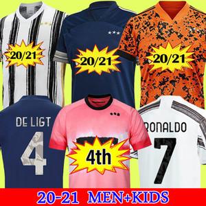 Hayranları Oyuncu sürümü Juventus futbol forması futbol forması 2020 2021 RONALDO McKENNIE 20 21 MORATA DYBALA şampiyonlar ligi erkekler + çocuklar kiti humanrace dördüncü 4th