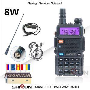 Hot Baofeng UV-5R 8Watts Walkie Talkie 10 km Baofeng uv5r 8W walkie-talkie de alta potência de 8W radioamador uv 5R UV-9R Além disso UV-8HX UV-XR