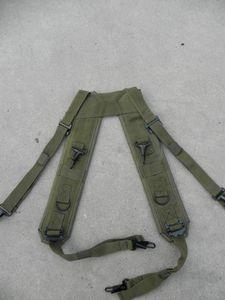H-tipo imbracatura tattica multifunzionale con cuscinetti peso puntelli fotografiche con quattro punti di imbracatura croce