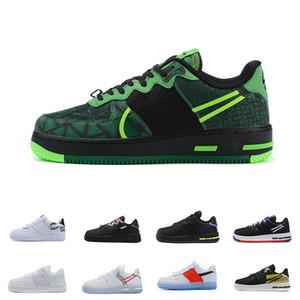 REACT WTR 1 Düşük 07 Paten Ayakkabı Rush Buz Beyaz Volt Siyah Kuvvetler Sneakers LV8 EMB Erkek Kadın Kaykay 3 M Yansıtıcı Koşu Ayakkabıları