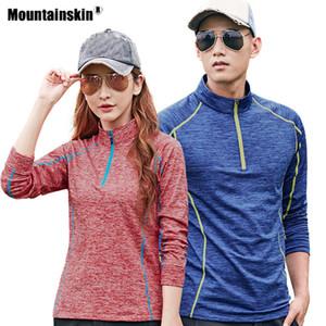 Women hiking men's fast drying long sleeve T-shirt outdoor sports upgrade camping diving fishing men's breathing coat va462