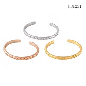 fashion bracelet women bracelet stainless steel jewelry rose gold friendship bracelets superior quality open bracelet bangle