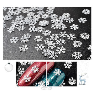 Snowflake Nail Decals Multi Designs Nails Art Stickers Christmas Decorations Sequins Ultrathin Personality Woman Supplies Fashion 2 8mz K2