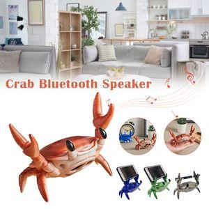 Portable Bluetooth Speakers Cute Crab Holder Desktop Wireless Speaker For Creative Gift Home Decoration