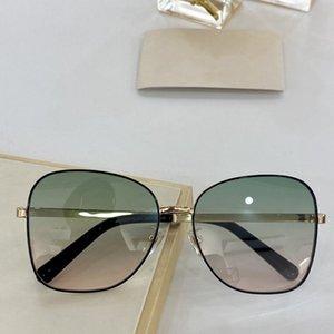 جديد تصميم الأزياء شعبية حملق كبير حملجل مع جودة البيضاوي إطار نظارات صغيرة المسامير GG0706 قناع حجم عدسة GG0706S أعلى Sungl AMLC