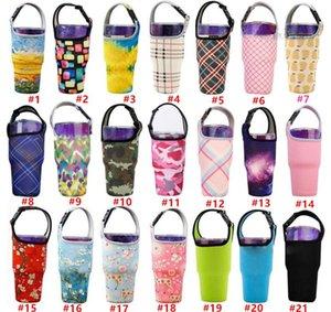 Bottiglia portabicchiere Handler copertina Carrier sacchetti sacchetto in neoprene Copertura per tutti i viaggi isolati tazze di caffè acqua con Carry FWB629
