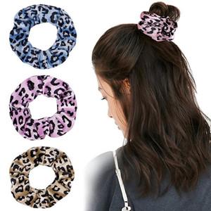 27Couleurs Corée Velvet Scrunchie Bandes de cheveux Elastic Gradient Cravate Teinture Circle Circle Femmes Fille Scrunchies Porte-Ville Porte-Cheveux Accessoires pour cheveux