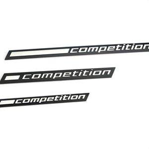 1x Rekabet Bar BMW Thunder Edition M1 M2 M3 M4 M5 M6 M7 M8 X3M X4M X5M X6M Araba Gövde Sticker