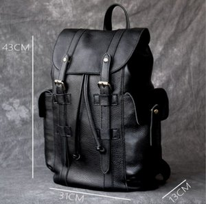 2020 Europa und die Vereinigten Staaten Neue Reisetasche Mode PU-Leder wasserdicht Außenhandel Rucksack Bergsteiger Tasche