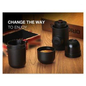 Coffee Roasters Portable Manual Maker Mini Handheld Press Machine Cup Family Travel Espresso Less 5Cups Plastic1