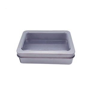10.7*7*3cm Open Window Metal Storage Cases, Tin Boxes Steel Display Packaging Can Free jllURz mx_home