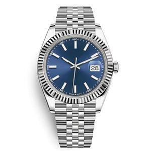 الرجال ووتش 41 ملليمتر الحركة التلقائي المقاوم للصدأ 2813 مصمم ميكانيكي datejust مونتر أوم الأزياء المعصم reloj