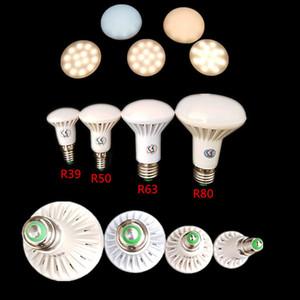 R39 / R50 / R63 / R80 E14 / E27 7분의 5 / 9 / 12w 주도 버섯 빛 따뜻한 / 화이트 라이트 전구 행 85 -265v 220V