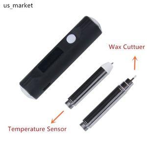 Dab Tool Dab Pen G9 Heat Up Temperature Sensor & Wax Cutter For SOC Enail Wax Vaporizer E Cigarettes