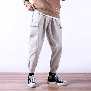 Zeeshant 2021 Pockets Cargo Pants Men Casual Fashion Tactical Trousers Streetwear Hip Hop Pants Men Urban Clothing For