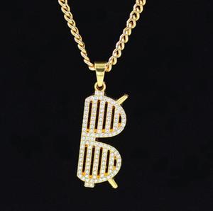 Hip Hop lunettes Collier Pendants de forme pour les hommes et les femmes Bijoux 24inch meilleur cadeau de la chaîne de corde