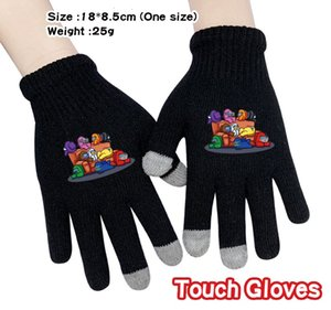 dhl 8 styles Hot Game Among Us Touch Gloves Cartoon Kids Adults Winter Warm Glove Mens Full Finger Gloves Womens Christmas Gifts by air11