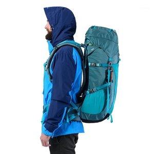 Сумки на открытом воздухе Naturehike 45L 55L 65L нейлоновый материал путешествия рюкзак с подвесной системой для кемпинга Пешие прогулки лазания