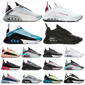 air max 2090 Hombres Mujeres Pure Platinum oreo polvo de fotones Pato Camo negro para hombre blancas entrenador deportivo zapatillas de deporte de tamaño 36-45