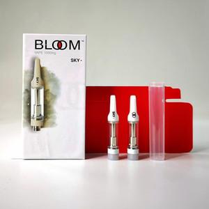 Bloom Vape Patronen 0,8 ml leeren Vape Stift 510 Gewinde Keramik Coil Cartridge dickes Öl Bloom Carts Vaporizer Atomizer