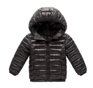 2020 New Fashion children jacket Outerwear Boy and Girl autumn Warm Down Hooded Coat teenage parka kids winter jacket