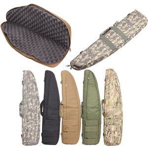 Outdoor Sports Tactical Assault Combat Camouflage Fishing Bag Photography Pack Tactical Rifle Airsoft 100cm 120cm Long Bag P11-803