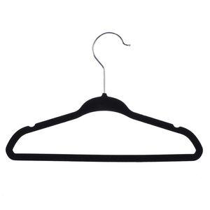 Durable Coat Hangers Solid Color Simplicity Small Clothes Racks Non Slip Woman Man Pure Color Metal Hooks Stands 0 8hl K2