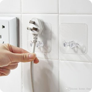 100pcs Transparent Strong Hook Self Adhesive Door Wall Hangers Hooks Vacuum Suction Cup Heavy Bathroom Steel Hanger