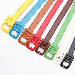 New Arilives Time-Limited Designers19 Женский патентный кожаный ремень простой корейский мода все-матч декоративный свитер платье платье женские