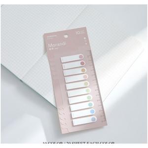 Drapeaux de compagnie onglets onglets Page Marqueurs Index de papier Marque-page Signet Sticky Notes Offre de bureau Papeterie Pet Drapeaux F JLLGCB