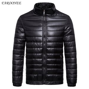 Down jacket Men High Quality Warm Casual Thick Coat Parka Men Slim Warm Outside Down Jacket Christmas Gift Men Winter Jacket 201022