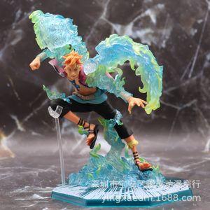 Anime One Piece Fighting Phoenix Marco PVC 19CM Figura de acción Estatua de juguete Modelo Figurine Niños Regalo Muñeca Coleccionable 1008