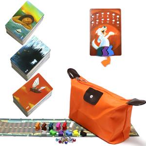 história Mini tell de 123 tabuleiro de jogo Total de 234 Cartões de jogo Brinquedos do coelho de madeira para a imaginação Crianças Family Game Board partido