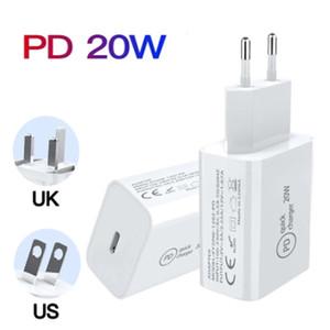 Caricatore da parete USB C 20W Consegna di alimentazione PD PD Adattatore rapido Adattatore Tipo C Caricatore CAPPORTO CHARGE CHARGING