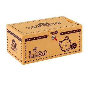 Sevimli Kitty Kumbara Kedi Elektronik Para Kutusu Ve Işık Masası Oyuncak Para Tasarrufu Kutusu Çocuklar Doğum Günü Noel Hediyesi için Z0123