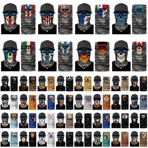 Milli Bayrak Hayvan faceshield Fonksiyonlu Sihirli Turban Eşarp Doğa Sporları Turban Güneş kremi Balıkçılık Bisiklet Facs maske XD24081