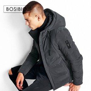 BOSIBIO 2017 Hiver coton matelassé Veste à capuche pour hommes de haute qualité Mode épais Outwear Veste Hommes Réchauffez Parkas 6666 kRH0 #