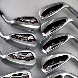 Golfclubs G410 Irons G410 Golfeisenset 4-9SUW R / S / SR Flex Welle mit Kopfabdeckung
