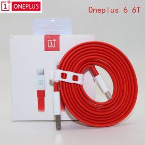 원래 35cm / 100cm / 150cm / 200cm 빨간색 4A USB 3.1 유형 C 케이블 oneplus 6 대시 충전기 케이블 플러스 7 7T 6T 5 T 3 T 휴대 전화